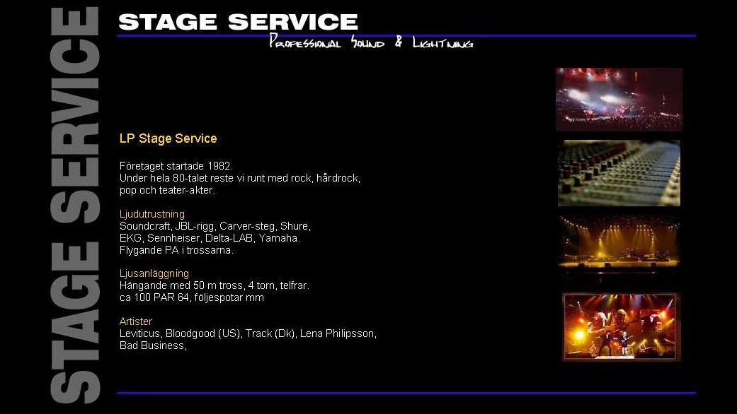 LP Stage Service
